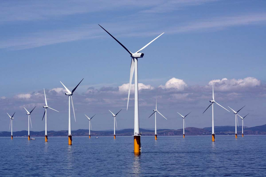 The capacity factors for offshore windfarms are high, says IRENA