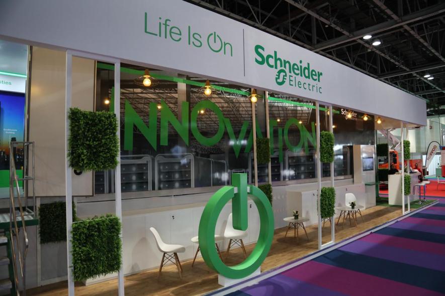 Schneider electric, Wetex 2018, Dubai Municipality, Efficiency, Water