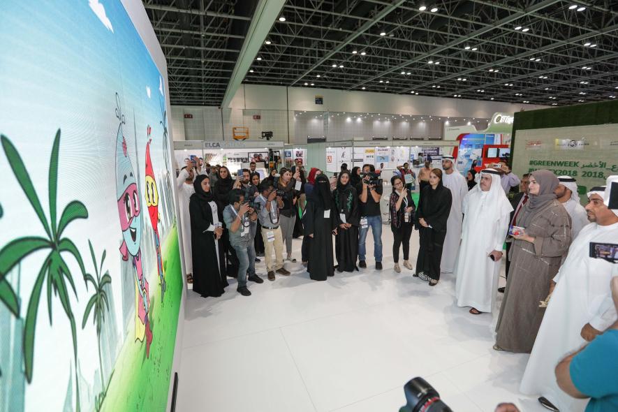 DEWA, Wetex 2018, Saeed Mohammed Al Tayer, Dubai solar show 2018