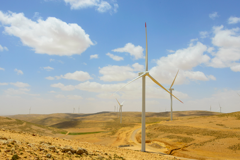 Jordan, Wind power, Alcazar energy, Al Rajef Wind Farm