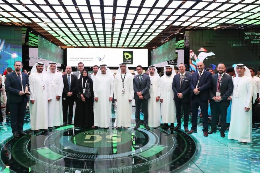 FEWA, Etisalat, Digital, Mohammad Saleh, Sultan Mohamed Al Dhaheri