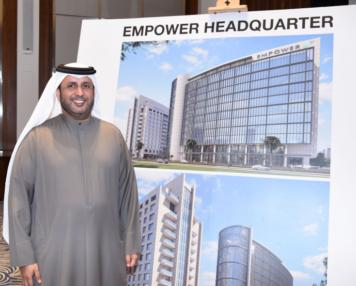 Empower CEO Ahmad Bin Shafar announced plans for the construction of new headquarters at a cost of Dh300mn