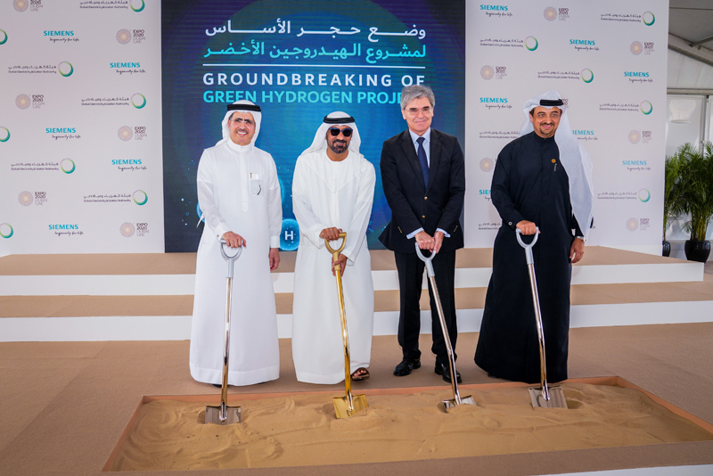 In Dubai, Siemens, DEWA and Expo 2020 Dubai have collaborated to build the region's first solar-driven hydrogen electrolysis facility