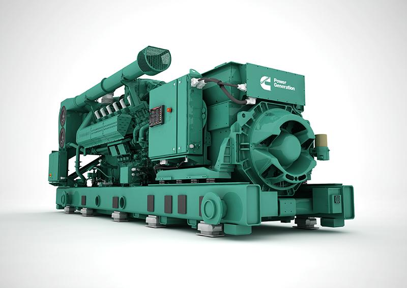 Genset, Diesel generators, Caterpillar, Cummins