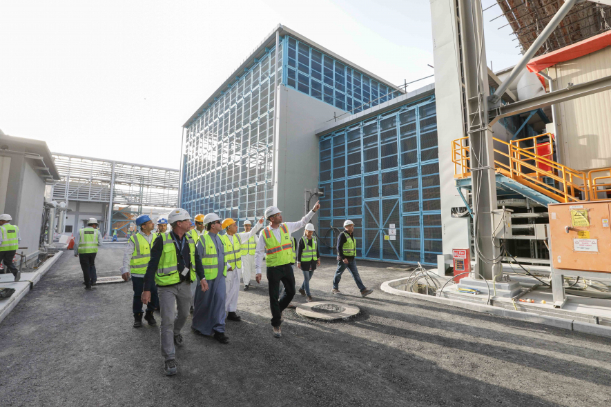 M-Station, Saeed Mohammed Al Tayer, DEWA, Desalination, Power generation