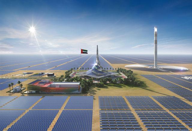 Saeed Mohammed Al Tayer, Renewables, Solar, Mohammed bin rashid al maktoum solar park, EDF, EDF Énergies Nouvelles