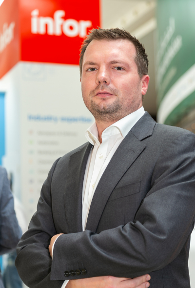 Jonathan Wood, General Manager India, Middle East & Africa, Infor