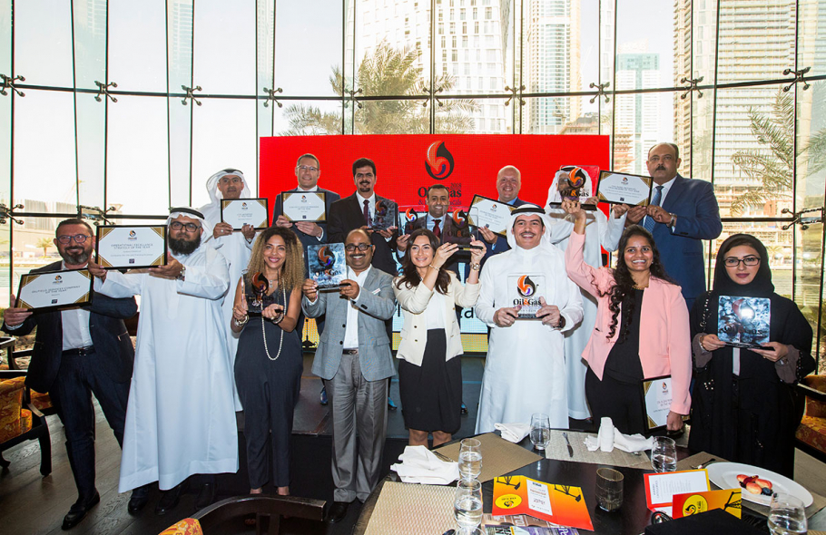 Middle East Energy Awards, Nominations, Middle east energy awards 2019