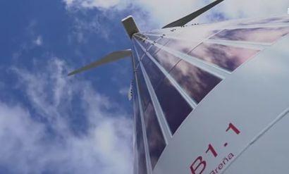 Acciona, Wind turbine, Solar