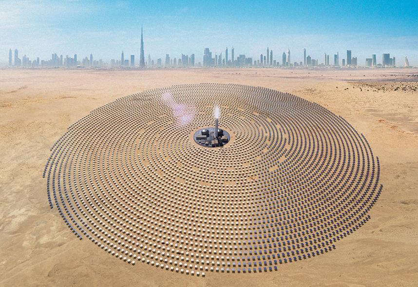 DEWA, Saeed Mohammed Al Tayer, Solar, Stanford university