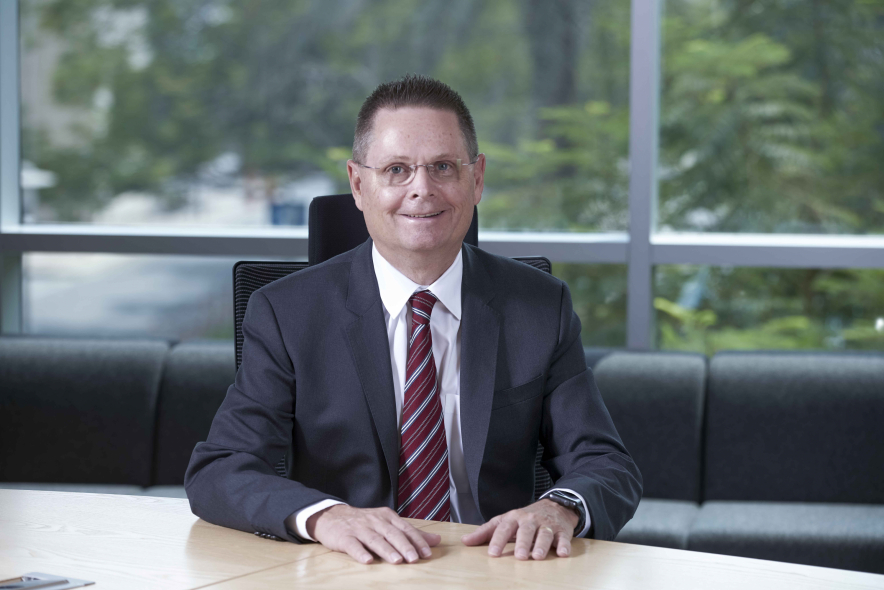 Norm Gilsdorf, president for Honeywell, High Growth Regions, Middle East