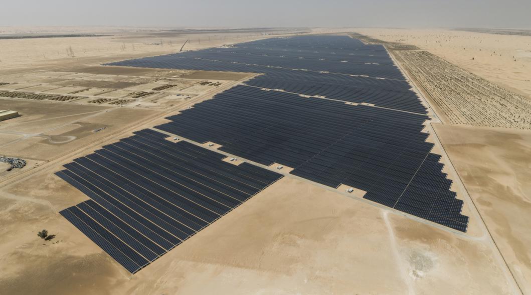 Solar, EWEC, Abu Dhabi