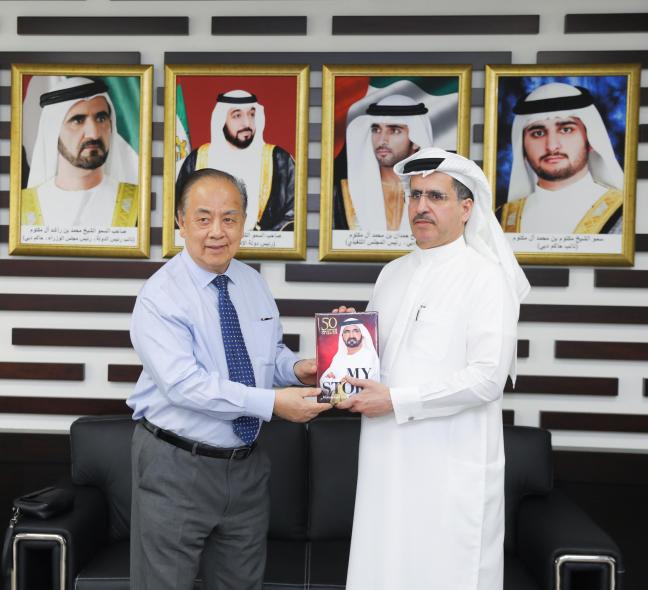 Saeed Mohammed Al Tayer, Dato Seri Setia Dr Mat Suny Hussein, DEWA