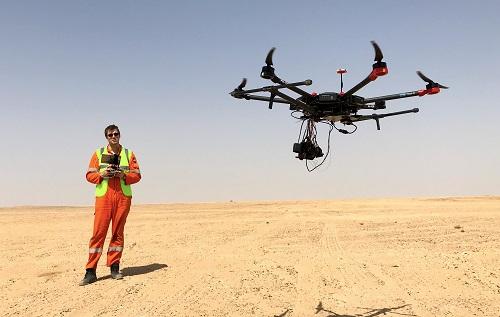 Terra drone, KazUAV