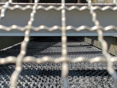 Cooling tower, Cleaning