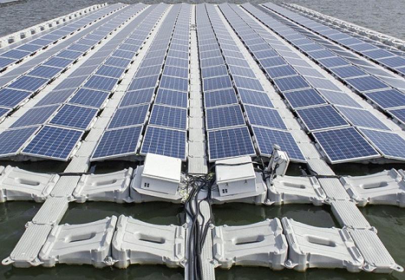 Ecocoast, Enerwhere, Floating solar