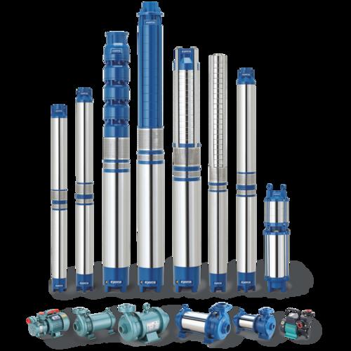 Submersible pumps, Pumps