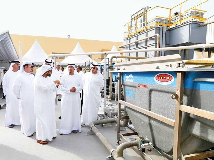 Wastewater, Dubai Municipality