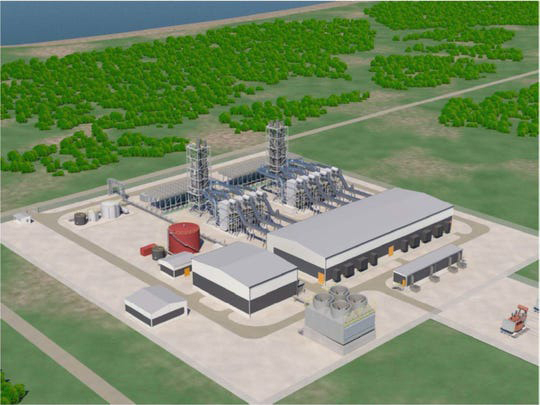 KEPCO, EWP, Gas fired plant, Combined cycle