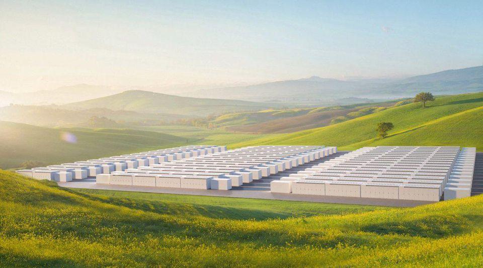 Tesla, Megapack, Battery