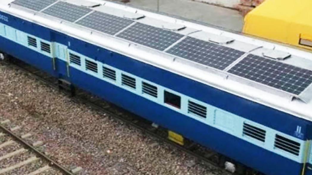 Solar train, Network rail