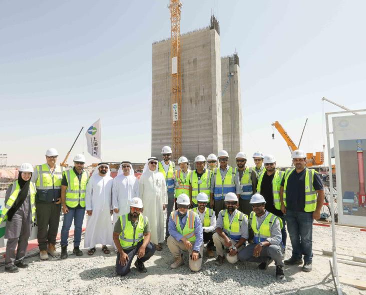 DEWA, Saeed Mohammed Al Tayer, Mohammed bin rashid al maktoum solar park