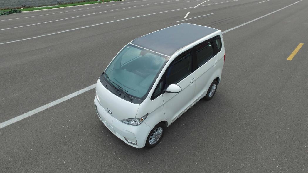 Hanergy, Solar electric vehicle