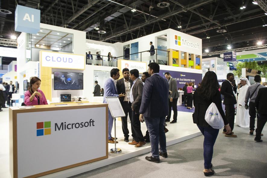 Microsoft, Cloud, Gitex, Sayed Hashish