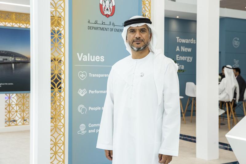 Eng. Awaidha Murshed Al Marar, Chairman of the Abu Dhabi Department of Energy (DoE)