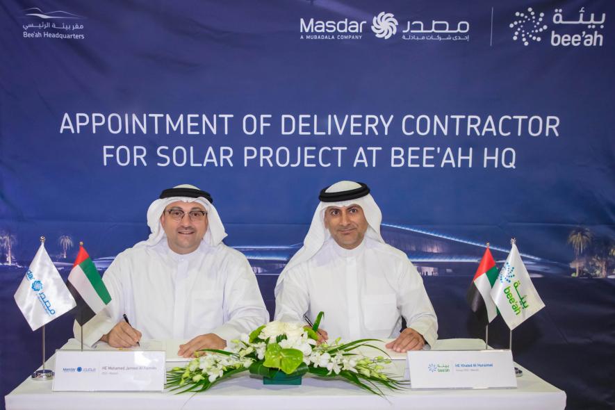 Bee'ah, Masdar, Solar