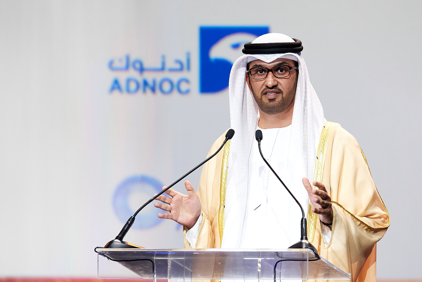 Dr. Sultan Ahmed Al Jaber, UAE Minister of State and Group CEO of ADNOC