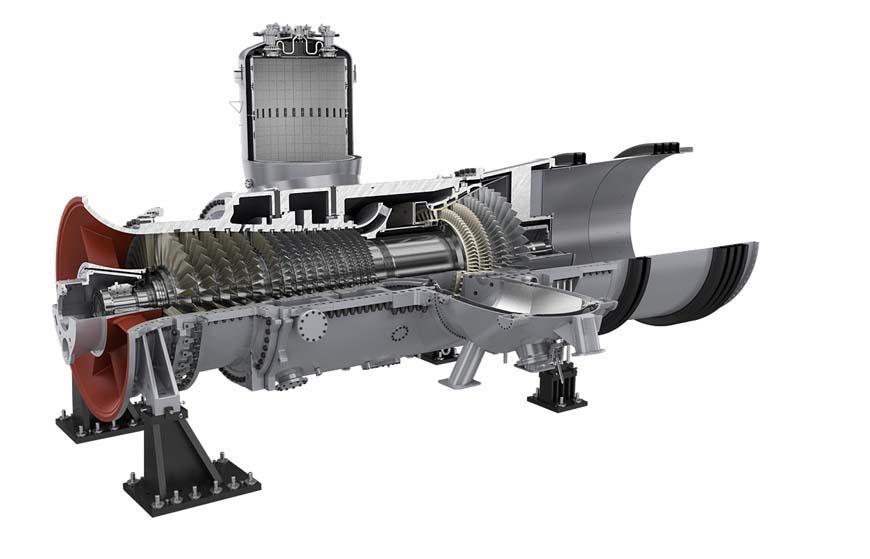 Siemens, SGT-800 gas turbine