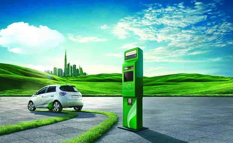 Electric vehicle, DEWA
