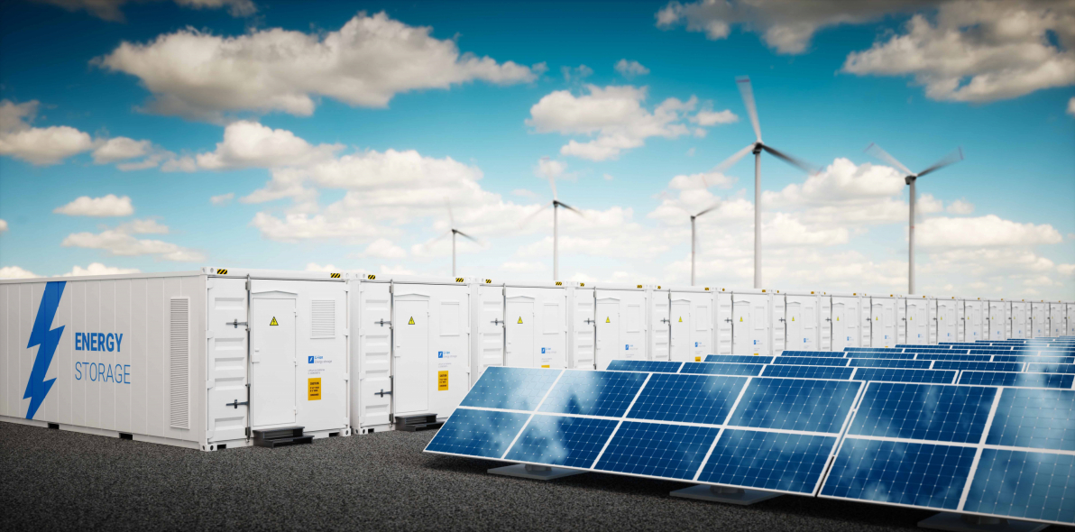 Battery storage, Solar