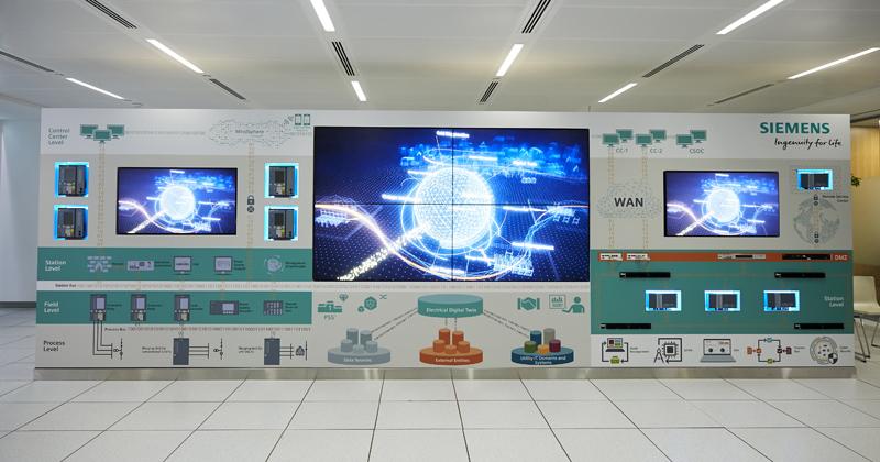 Siemens, Digital grid center