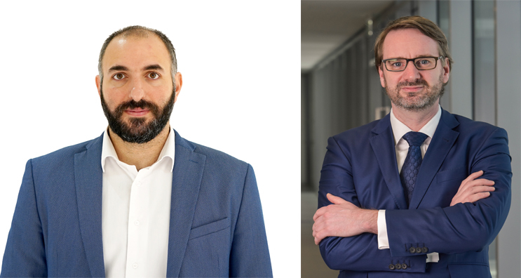 Nadim Haddad (left) and Andrew Horncastle