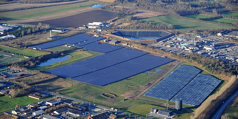 Solar, District heating
