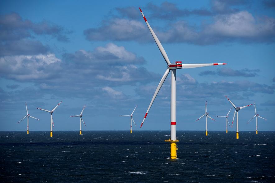 Trianel Windpark Borkum II, in Germany ©Trianel
