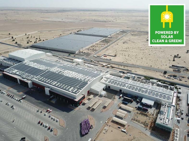 Mai Dubai, Solar power, Water