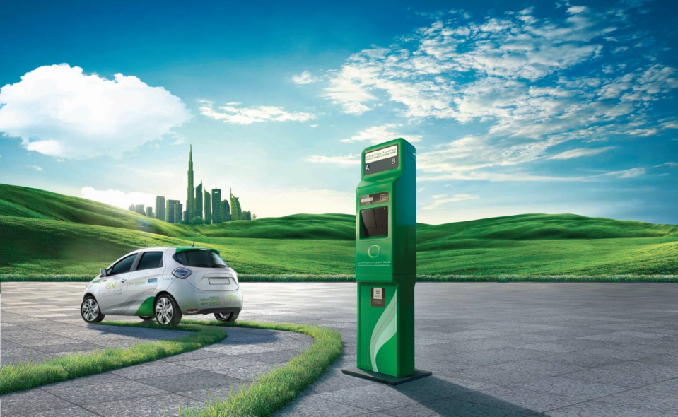 DEWA, Electric vehicles, EV, Blockchain