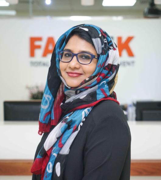 Nadia Ibrahim, Head of Consultancy, Farnek