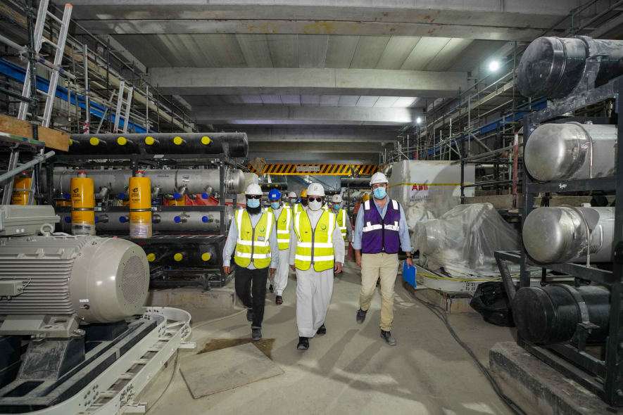 DEWA is boosting its water production capacity by setting up new desalination plants in Dubai