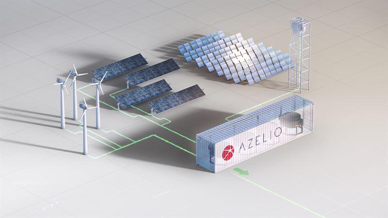 Azelio, Battery storage, Storage